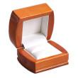 Krásná luxusní dřevěná krabička