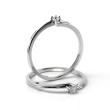 Zlatý zásnubní prsten s diamantem 05.1855