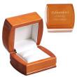 Luxusní krabička na šperky - možnost vlastního textu BC01