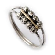 Prsten z portugalského stříbra AF0113