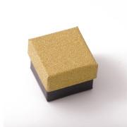 Krabička na šperky se třpytkami zlatá SF009-Z