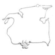 Stříbrný náhrdelník tlapka NAHRTLAP