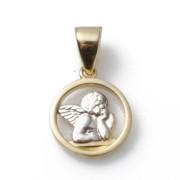 Zlatý přívěsek andílek S626.00055.1
