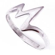 Stříbrný prsten blesk 000.00217