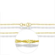 Zlatý řetízek lambáda žluté zlato 000.00030