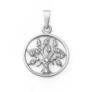 Stříbrný přívěsek strom života 010.00096