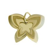 Zlatý přívěsek motýl PA0748