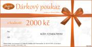 Dárkový poukaz v ceně 2000Kč DP002000