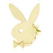 Zlatá náušnice zajíc na levé ucho 000.00013
