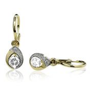 Zlaté dětské náušnice slzičky Cutie jewellery C1898