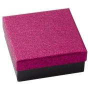Krabička velká se třpytkami růžová SF012-R