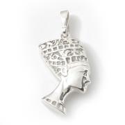 Stříbrný přívěsek hlava Nefertiti 000.00043
