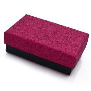 Krabička na šperky se třpytkami SF010-R
