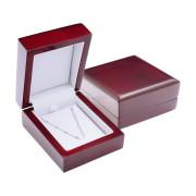Luxusní dřevená krabička červená BA35-TMC