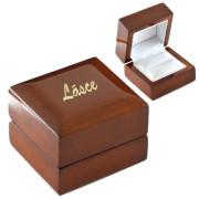 Luxusní dárková krabička na šperky - možnost vlastního textu BM01