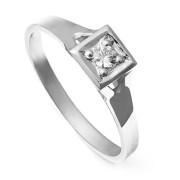 Zlatý zásnubní prsten se zirkonem 223020123