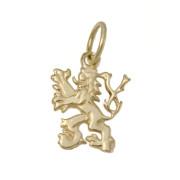 Zlatý přívěsek český lev žluté zlato 000.00034