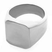 Ocelový pánský pečetní prsten 02.00033