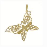 Zlatý přívěsek motýl PA0744
