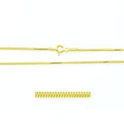 Zlatý řetízek hádek žluté zlato 000.00009