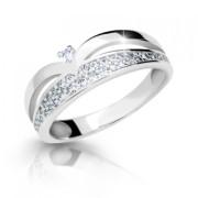 Zlatý prsten se zirkony 2544