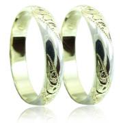 Snubní prsteny v kombinaci zlata 04.B60