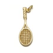 Zlatý přívěsek tenisová raketa ZZ10
