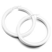 Stříbrné náušnice kruhy 48mm 000.00102