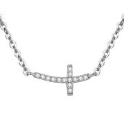 Stříbrný náhrdelník s křížkem AGS546