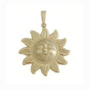 Zlatý přívěsek slunce 000.00074