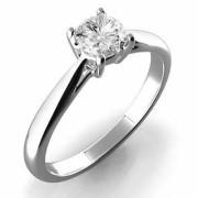 Prsten z bílého zlata s diamantem Gems Viola 990.386-0212