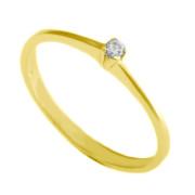 Zlatý prsten zásnubní mini 05.9130772