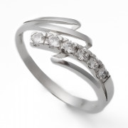 Zlatý prsten se zirkony 010.00235