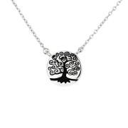 Stříbrný náhrdelník strom života AGS367
