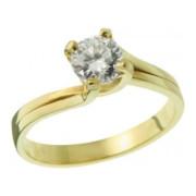 Zásnubní prsten ze žlutého zlata 05.B226862