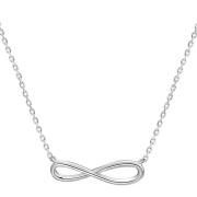 Stříbrný náhrdelník nekonečno AGS661