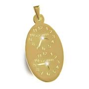 Křtící hodiny ze žlutého zlata pro sourozence P10duo