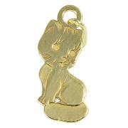 Zlatý přívěsek kočička PA0990