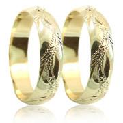 Snubní prsteny ze žlutého zlata 04.P5R9