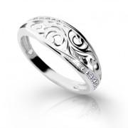 Zlatý prsten se zirkony 01.DLR2133