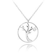 Stříbrný náhrdelník strom života JMAS5040SN45