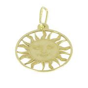 Zlatý přívěsek slunce žluté zlato PA1214