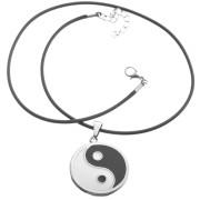 Ocelový náhrdelník jing jang 15.00032