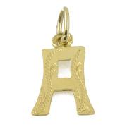 Přívěšek ze žlutého zlata písmeno A 03.000.00028