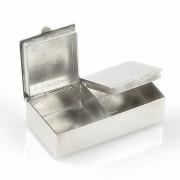 Stříbrná krabička na léky CX-FL0029