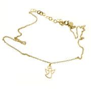Zlatý náhrdelník andílek 000.00041