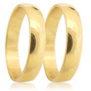 Snubní prststýnky ze žlutého zlata  04.B191