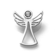 Zlatý přívěsek anděl se zirkonem 010.00004
