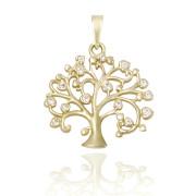 Zlatý přívěsek strom života ZZ10