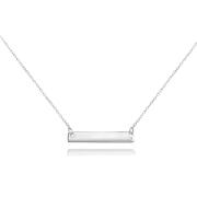Stříbrný náhrdelník s destičkou JMAS8201SN